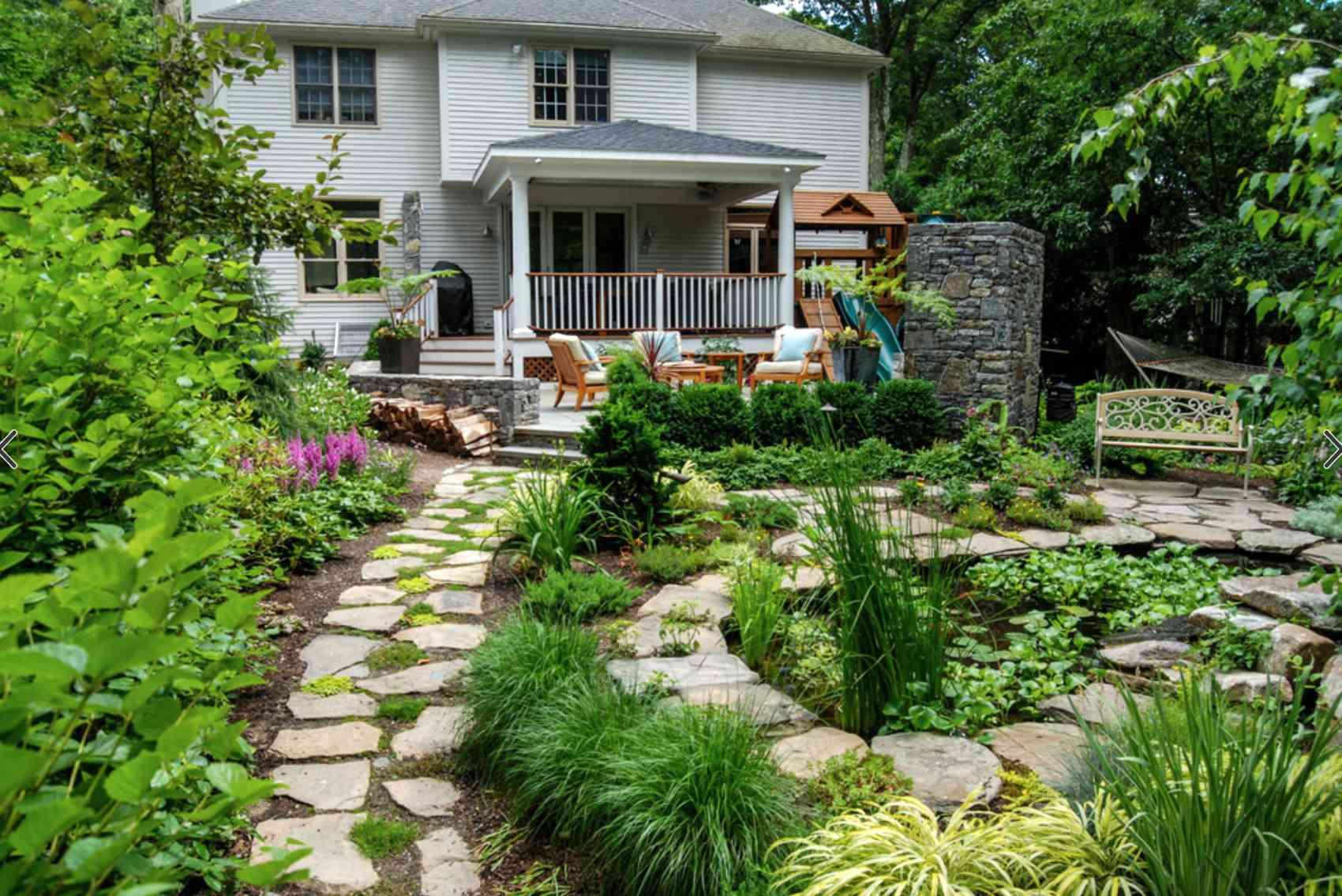 Pebble path design
